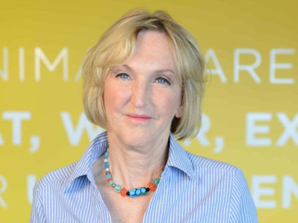 Ingrid Newkirk, President, PETA, October 9, 2018